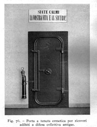 Steel door without a peephole