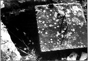 Document 46. Concrete cover with metal handle