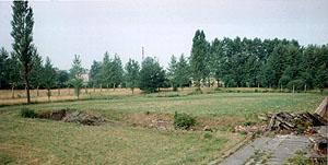 Leichenkeller 1 of Krema II  in 1992