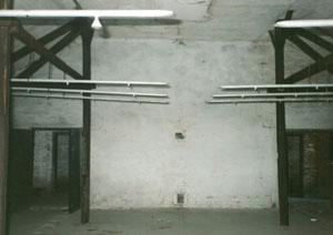Door of the Gaskammer using hydrocyanic acid